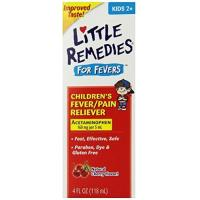 China Acetaminophen Little Remedies Child Fever/Pain Reliever, Cherry Flavor, 4 Ounce for sale