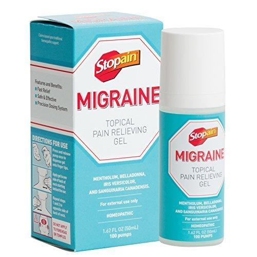 Quality Alternative Remedies Stopain Migraine Topical Pain Relieving Gel, 1.62 Fluid Ounce for sale