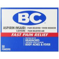 Alternative Remedies BC Aspirin Fast Pain Relief Powder, 50 Count for sale