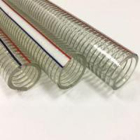 Agricultural Hose PVC Flexible Clear Wire Reinforced Suction and Delivery Pump Water Spring Hose