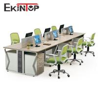 High quality reasonable price office furniture 6 person workstation for sale