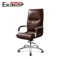 Ergonomic brown high back boss seat high chair for sale