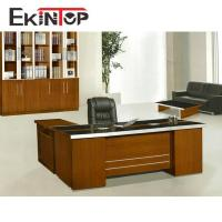 Wood desk table with good quality luxury boss standard office desk for sale