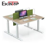 China Height adjustable working table by Kintop China factory for sale