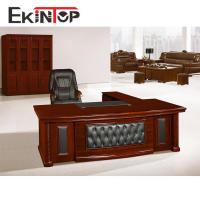 Competitive price MDF paper finishing wooden table for sale