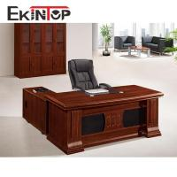 China l shape table with good quality luxury boss standard office desk for sale