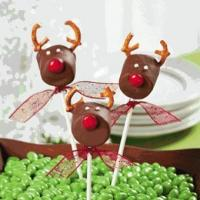 China Desserts Chocolate Covered Marshmallow Reindeer on sale