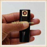 Fasionable Female Rechargeable Windproof USB Lighter with High Grade Box Fast Delivery