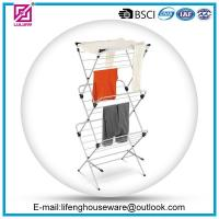 Buy cheap three tier foldable clothes drying rack from wholesalers