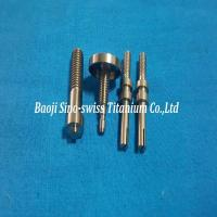 Buy cheap Titanium electrode/Titanium anode parts from wholesalers