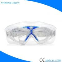 Buy cheap Silicone Antifog UV Protection No Leaking Swimming Goggles for Men Women from wholesalers