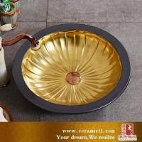Buy cheap Art basin Indoor ceramic sinks from wholesalers