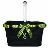Buy cheap Monogrammed Market Tote with Festive Ribbon from wholesalers