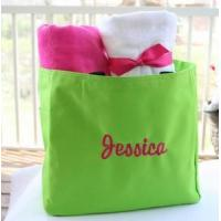 Buy cheap Monogrammed Tote Bag - Several Color Choices from wholesalers
