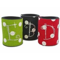 Wholesale Christmas Rhinestone Monogram Coolies from china suppliers