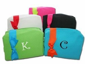 China Large Monogrammed Cosmetic Bags - Monthly Special!!