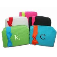 Buy cheap Large Monogrammed Cosmetic Bags - Monthly Special!! from wholesalers