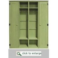 Wholesale FURNITURE Entryway Locker, 14 inch wide from china suppliers