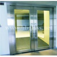 Door closers fireproof glass