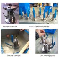 Wholesale Ball valve-DBB type & flange or threaded ends from china suppliers