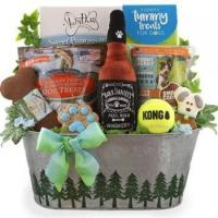China Sporty Dog Gift Basket on sale
