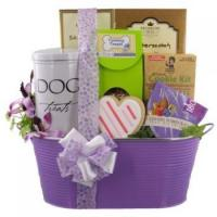 Wholesale Valentine Friends Forever Dog and Owner Gift Basket from china suppliers