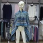 China Cashmere Sweater Open Front Cardigan Sweater 170376 on sale