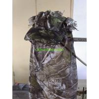 Wholesale Woodland Camo 3D Camouflage 3D Sneaky Cap With Facemask Paintball Hunting from china suppliers
