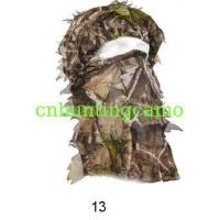 Wholesale Woodland Camo/Camouflage Hunting 3D Leaf Mask from china suppliers
