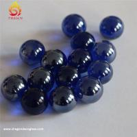 Wholesale Colorful Decoration Custom Glass Marbles,round Solid Home Decor Hand Made Glass Balls from china suppliers