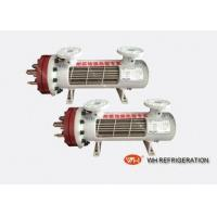 Buy cheap Shell And Tube Type EvaporatorRefrigeration Accessories For Swimming Pool from wholesalers