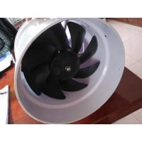 China Axial Vent Fan for Laboratory Ventilation System Special Use 1850m3/h XC-VFA1850 on sale