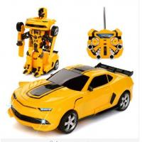 Wholesale Transformers Autobots Electric RC Car with One Button To Deformation Remote Control Option from china suppliers