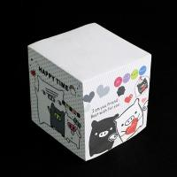 China Memo cube series customized paper cube for sale