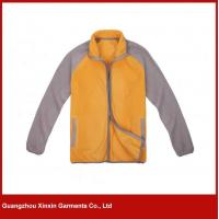 Wholesale Custom soft polar fleece jacket for winter for sport wear (J69) from china suppliers