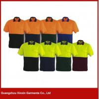 Wholesale hot sale cotton orange black work uniform shirts cheap for engineer W73 from china suppliers
