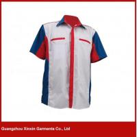 Wholesale Customized cheap price worker shirts maker in guangzhou China(S90) from china suppliers