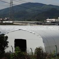 Wholesale Agricultural Mushroom Greenhouse with Black and White Film from china suppliers