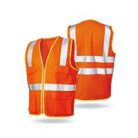 Wholesale Safety Vest Reflective Motorcycle Vest with Hi Vis Reflective Tape from china suppliers