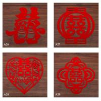 Wholesale Laser Cutting 100% Polyester Felt Coaster/placemat/mat from china suppliers