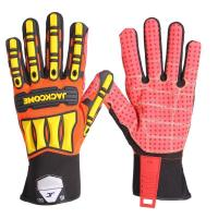 Buy cheap Impact ProtectiveOilFieldGlovesSafety Shockoil gloves from wholesalers