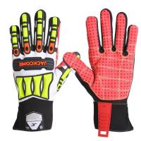 Buy cheap Synthetic leather palm mechanic worker TPR gloves from wholesalers
