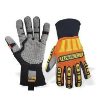 Wholesale 4001 Grey Palm Heavy Duty Impact Resistant Kong Mechanics Glove with not cotton from china suppliers