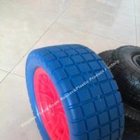 "Wholesale 13""X5.00-8 Polyurethane Foam Flatfree Wheel for Carts from china suppliers"