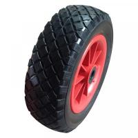 "Wholesale 10 Inch 10""X3.00-4 Carefree Polyurethane Trolley Wheel from china suppliers"