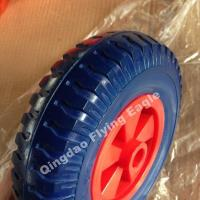 "Wholesale 8 Inches 8""X2.50-4 Polyurethane Wheelbarrow Wheel, Trolley Wheel from china suppliers"