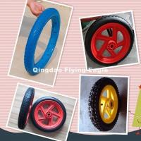 Wholesale 13, 18, 26 Inch Polyurethane Wheel Trolley Wheel from china suppliers