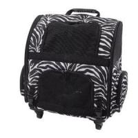 China Zebra Style Printed Travel Trolley Pets Backpack Carrier Bag Sh-17070211 on sale