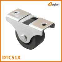 Wholesale 1 inch gray wheel caster DTC51X from china suppliers