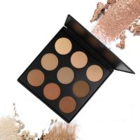 Wholesale 9 Color Correcting Makeup Concealer Palette Pressed Powder Contour Kit 250g Weight from china suppliers